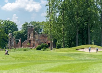 Kasteel Ruïne Golfbaan Landgoed Bleijenbeek